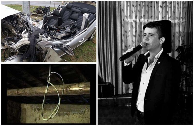 Două acte de suicid şi un accident mortal, dramele din prima zi a anului 2018. Lipova îl plânge pe solistul de muzică populară, Sergiu Curcă