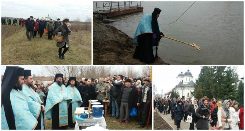 Slujbă specială de Bobotează la Mănăstirea Hodoş Bodrog