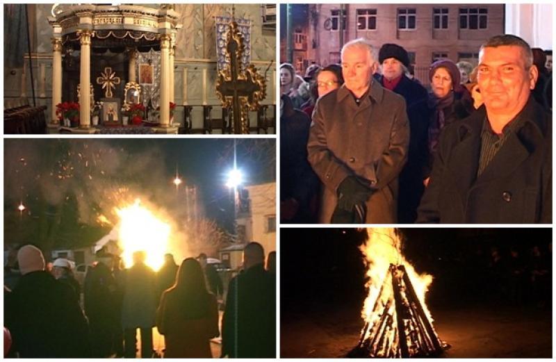 Sârbii din Arad au sărbătorit Crăciunul pe rit vechi