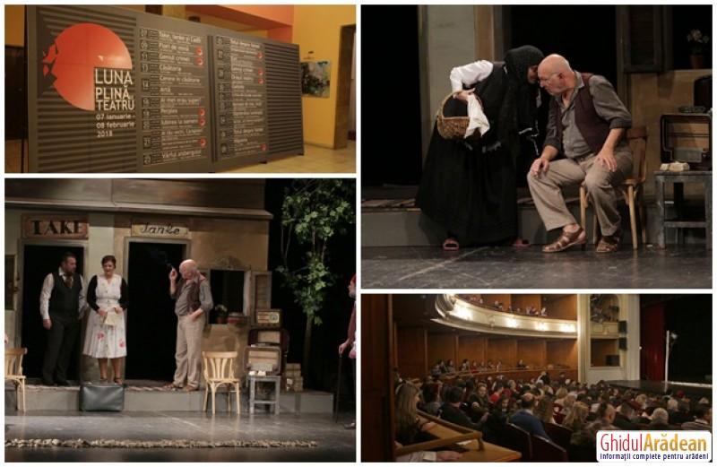 Luna plină de teatru – un proiect de succes… din prima zi