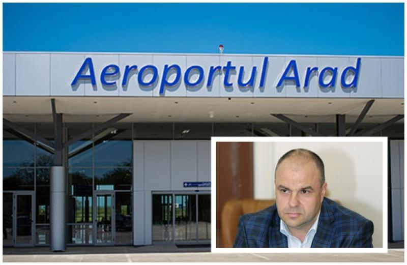 Circul din Parlament a aterizat pe aeroportul din Arad. Scrisoare deschisă adresată deputatului Adrian Todor, din partea conducerii  Aeroportului Internaţional Arad