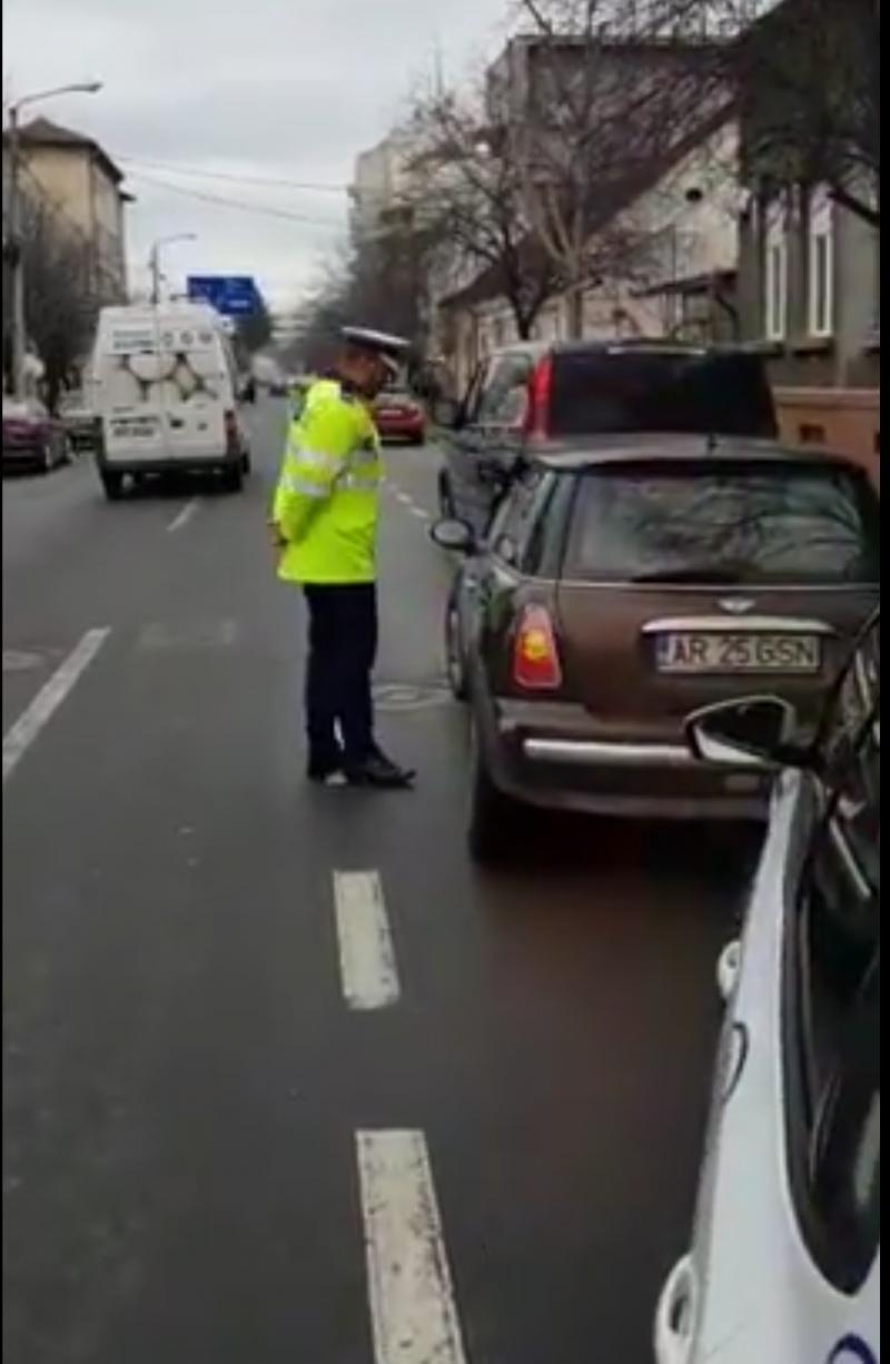 Arădenii în vizorul polițiștilor