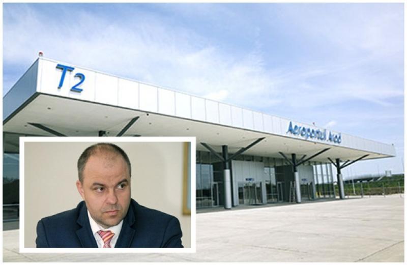 Piedici pentru Aeroportul Internaţional Arad, din partea TAROM. Va interveni Adrian Todor pentru rezolvarea problemelor?