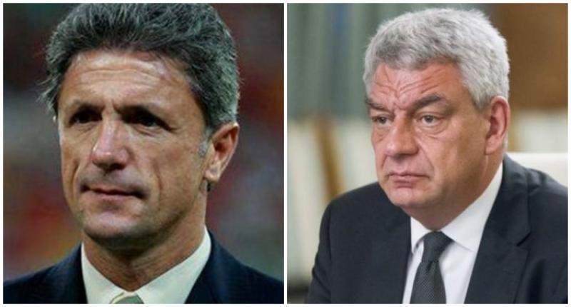 Gică Popescu, noul consilier al premierului Tudose
