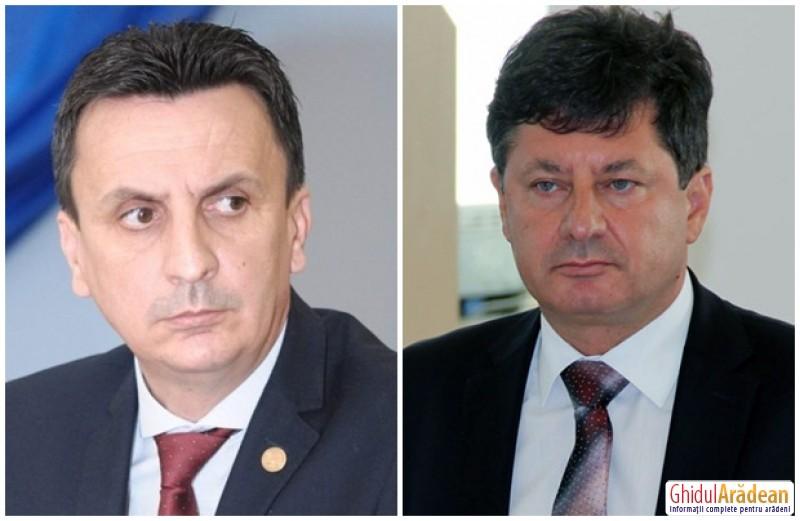 Pesedistul Florin Tripa, urecheat de preşedintele CJA, Iustin Cionca