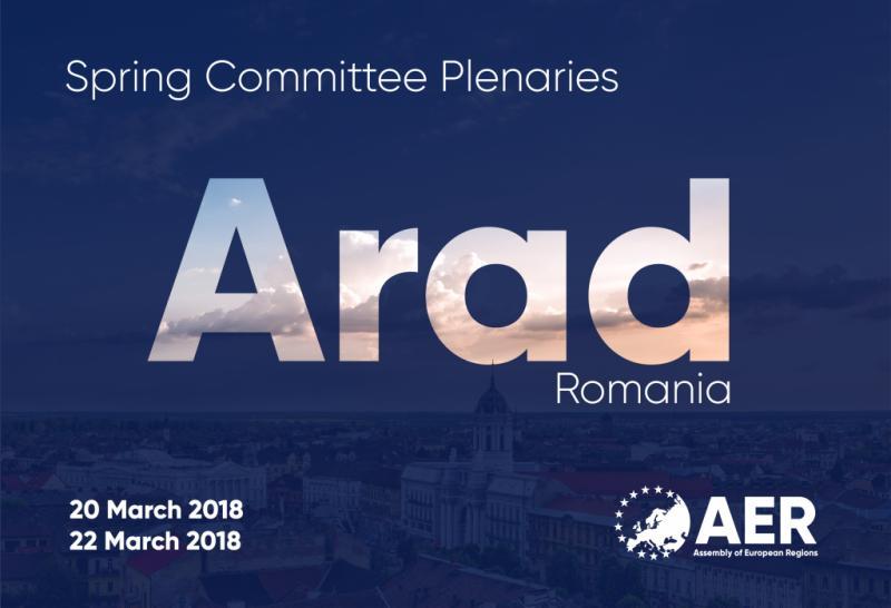 Aradul devine centrul regiunilor europene