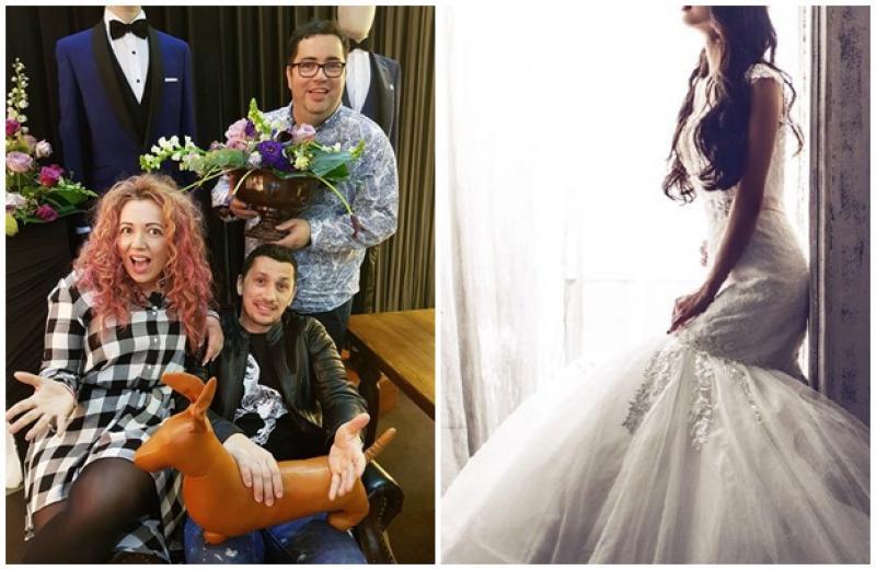 Răzvan Popescu şi Flick Domnul Rimă, la Târgul de Nunţi-Wedding Bouquet din Arad