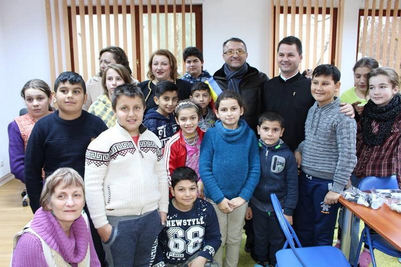 Centru de zi pentru copiii defavorizaţi, la Hăşmaş