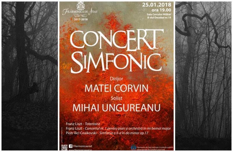 Opera lui Ceaikovski prinde viaţă sub bagheta dirijorului Matei Corvin, în Sala Cercului Militar din Arad