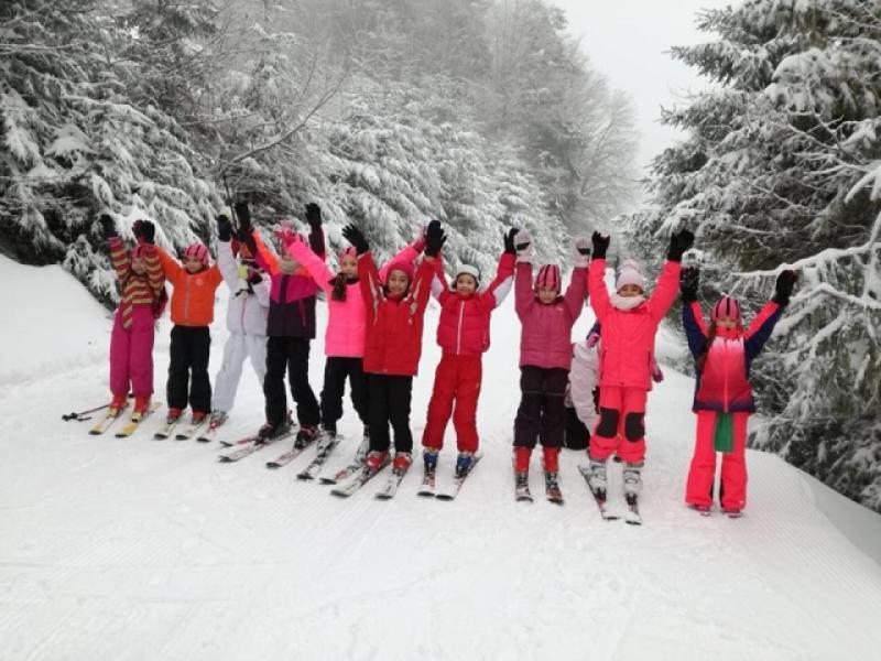 Gimnastele de la CSM Arad, în cantonament la Arieşeni