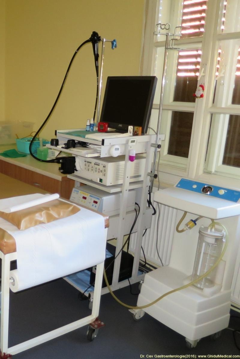 Spitalul Județean din Arad are aparatură nouă pentru Gastroenterologie, care poate depista cancerul din formă incipientă