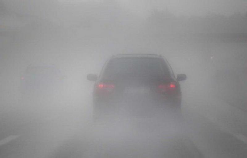 Vizibilitate redusă din cauza ceţii pe mai multe drumuri din Arad şi Timiş