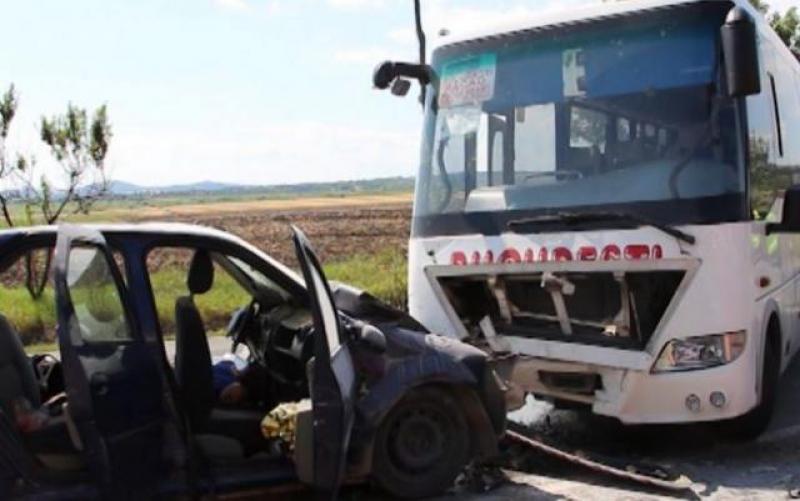 Pasagerii unui autobuz au trecut prin clipe de groază