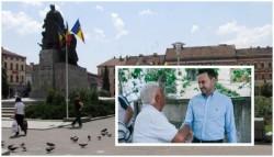 Primarul Falcă vrea să apeleze la ajutorul arădenilor prin semnături de susţinere pentru parcarea subterană din Piaţa Avram Iancu
