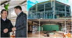 Noua hală a pieţei Mioriţa va fi gata în luna februarie