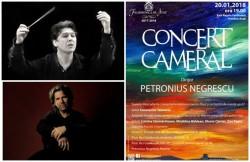 Concert cameral cu dirijorul Petronius Negrescu la pupitru