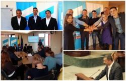 USR Arad, la raport! Formaţiunea politică a prezentat raportul de activitate politică, pentru ultimul trimestru din 2017