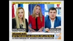 Şefa TSD Arad, declaraţii demne de noaptea minţii, la Realitatea TV. Tânăra speranţă a PSD s-a făcut de râs în întreaga ţară