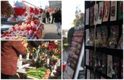 Unde se vor  comercializa produsele de Ziua Îndrăgostiţilor, 1 Martie și 8 Martie
