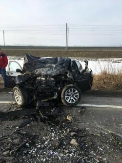 Trei persoane și-au pierdut viața într-un groaznic ACCIDENT de circulație