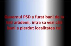 Vezi aici sumele de bani tăiate de Guvernul PSD localității tale!