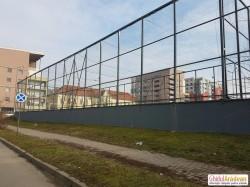 Terenul de sport de la Kaufland preluat de Primăria Arad