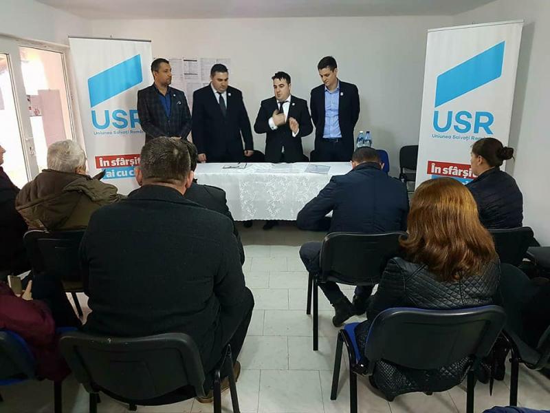 USR Arad a crescut cu două noi filiale locale
