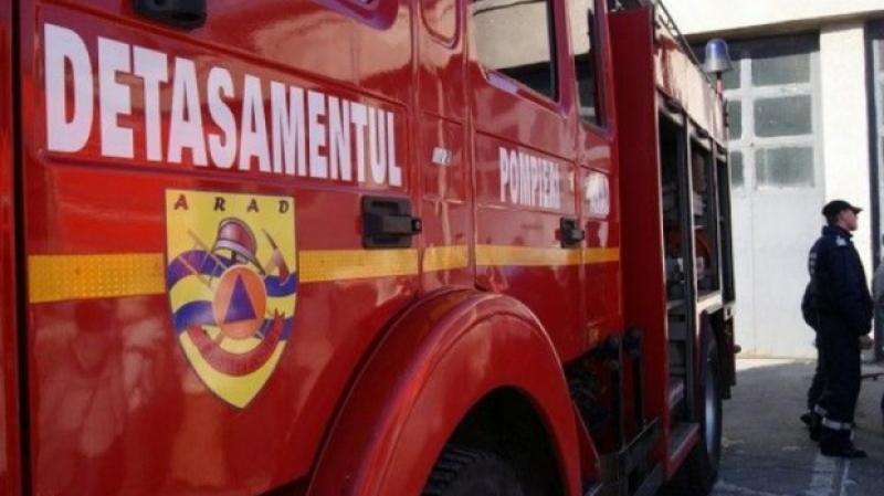 Inspectoratul pentru Situaţii de Urgenţă Arad, solicitat zilnic de peste 20 de ori, în luna ianuarie