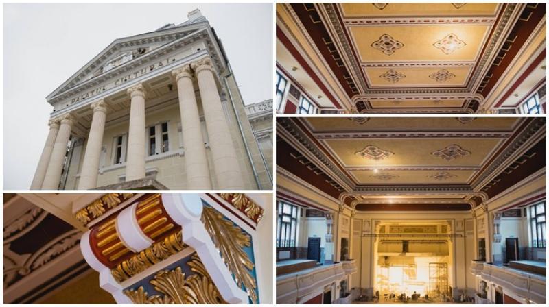 Reabilitarea Filarmonicii de Stat Arad este în faza de finisaje