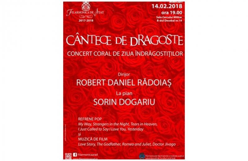 Ziua îndrăgostiţilor, sărbătorită de Filarmonica de Stat din Arad