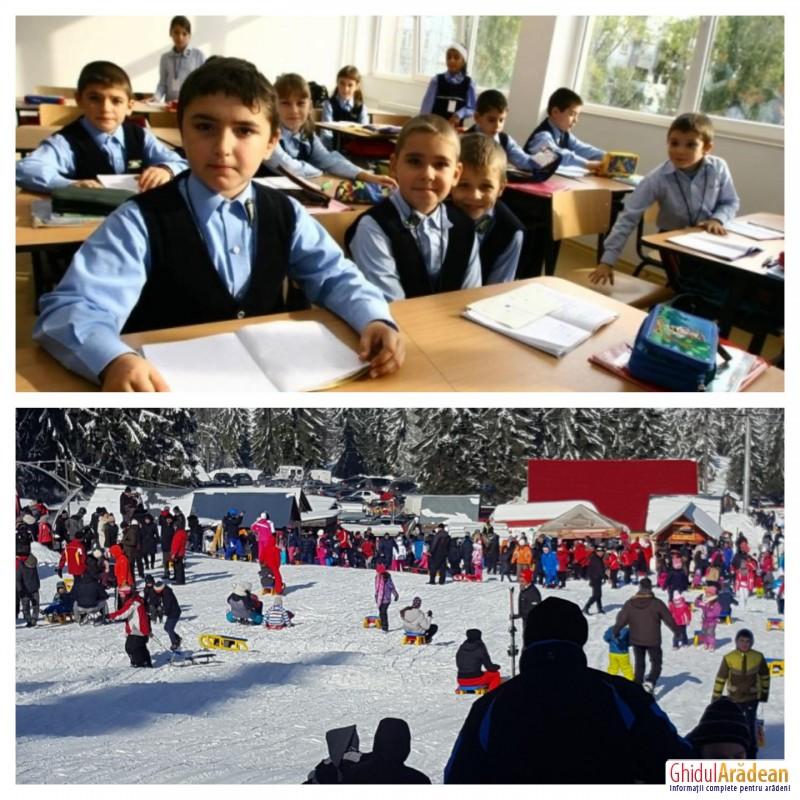 De astăzi, elevii și preșcolarii s-au întors la cursuri. AFLĂ unde au petrecut ultima zi de vacanță, cei mai mulți dintre arădeni