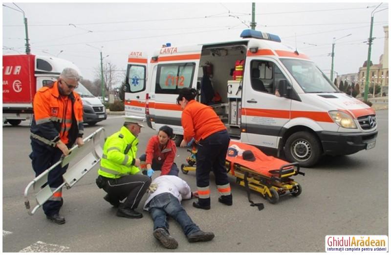 Doi poliţişti locali au salvat viaţa unui epileptic, în intersecţia de la Podgoria