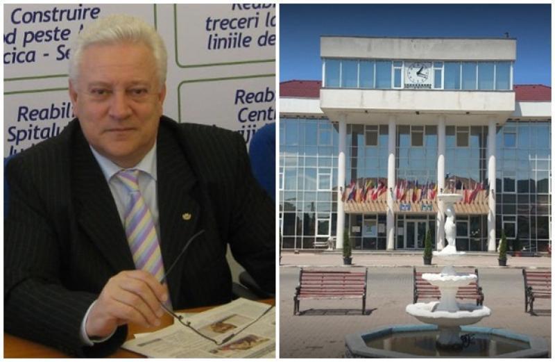 Oraşul Sebiș a rămas fără primar. Prefectul Aradului a emis ordinul privind încetarea mandatului pentru Gheorghe Feieş