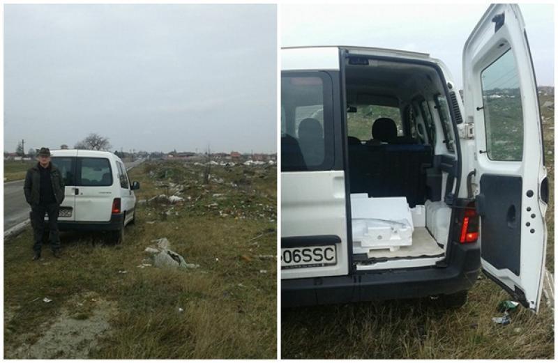 """Din seria """"Aradul îngropat în gunoaie"""". Alt arădean amendat pentru aruncarea deşeurilor pe domeniul public"""