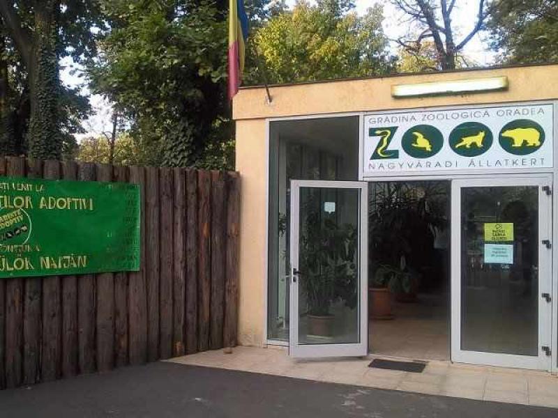 O mamă și copiii ei au rămas închiși în Grădina Zoologică din Oradea
