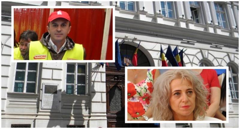 Cum aruncă pesediștii gunoaiele pe geamul Prefecturii! Fapte de vitejie ale consilierului municipal Ilie Cheșa!