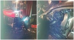 GRAV accident în vestul țării vineri dimineața