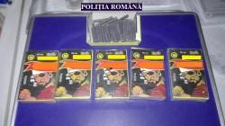 Țigări de contrabandă și petarde, reținute de polițiști