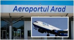 BLUE AIR vrea să zboare de pe Arad după părăsirea Aeroportul Internațional din Timișoara!