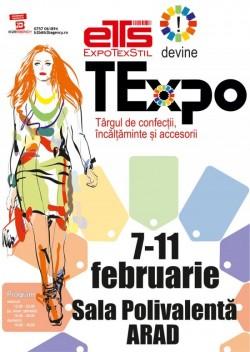 Expo Textil devine Texpo si a revenit la Sala Polivalenta din Arad