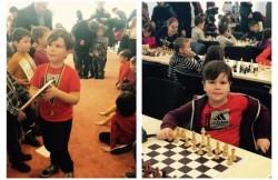 Micii şahişti de la Palatul Copiilor Arad, s-au impus în concursul de la Gyula