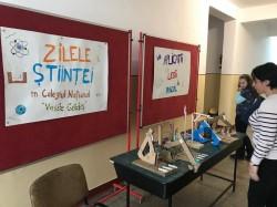 Zilele științei în Colegiul Național Vasile Goldiș Arad