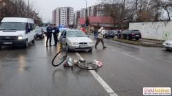 Biciclist accidentat grav pe Banu Mărăcine
