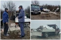 Cartierele Aradului, îngropate în moloz. Doi arădeni, surprinşi în aceeaşi zi de Poliţia Locală în timp ce aruncau moloz pe domeniul public
