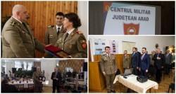 50 de ani de la înfiinţarea Centrului Militar Judeţean Arad
