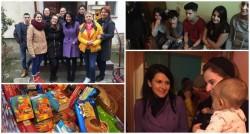 """Campania """"Ajută-ne, să-i ajutăm"""" continuă, de această dată a venit rândul unei familii cu cinci copii"""