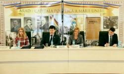 28 de puncte pe ordinea de zi a şedinţei C.J. Arad de vineri
