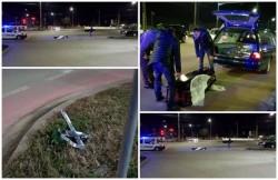 Întâmplare tragi-comică lângă Cimitirul Pomenirea. O maşină mortuară a pierdut sicriul cu decedatul, în mijlocul drumului
