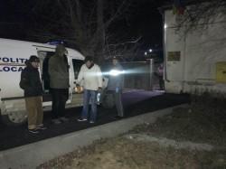 Oamenii fără adăpost adunaţi de pe străzi de Poliţia Locală împreună cu Direcția de Asistență Socială Arad