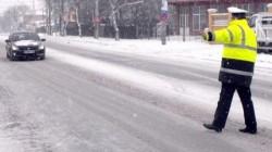 Zăpada căzută peste Arad a redus drastic numărul amenzilor! Doar 37 de sancţiuni în ultimele 24 de ore!